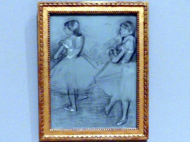 Edgar Degas: Zwei Tänzerinnen, um 1879