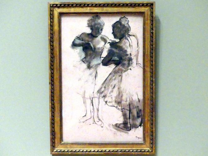 Edgar Degas: Zwei Tänzerinnen, 1873