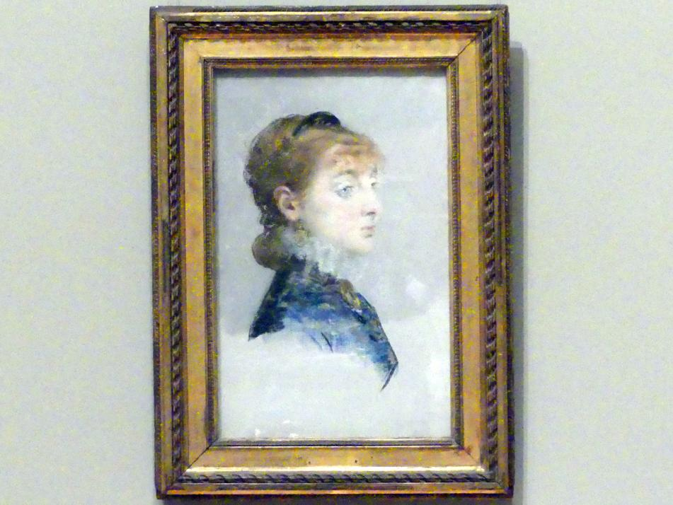 Édouard Manet: Mademoiselle Lucie Delabigne (1859-1910), genannt Valtesse de la Bigne, 1879