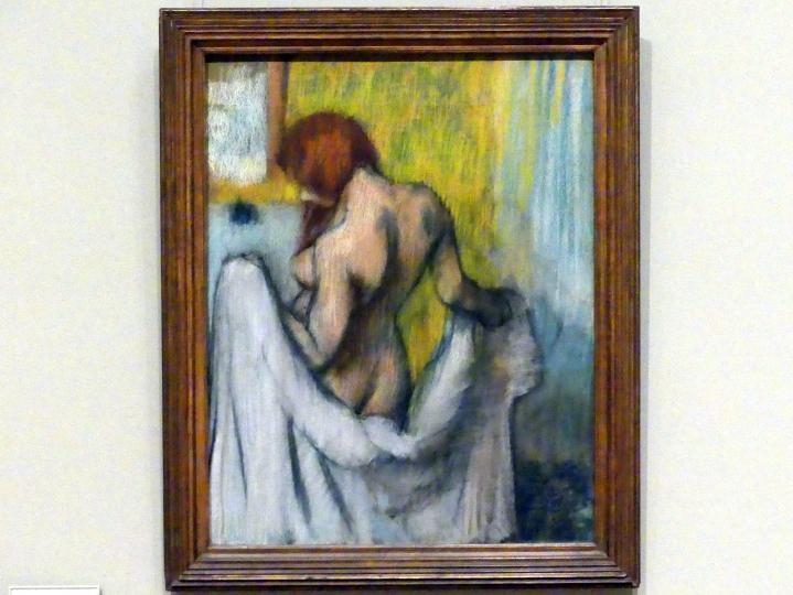 Edgar Degas: Frau mit Handtuch, um 1894 - 1898