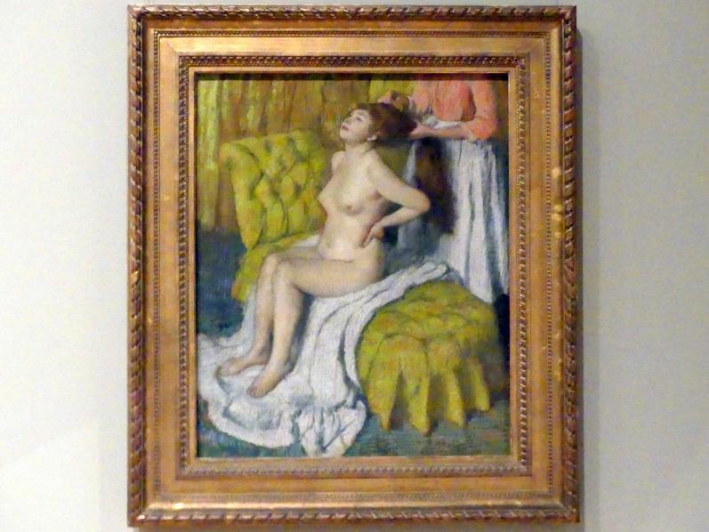 Edgar Degas: Frau, der die Haare gekämmt werden, um 1886 - 1888