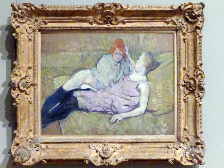 Henri de Toulouse-Lautrec: Das Sofa, um 1894 - 1896