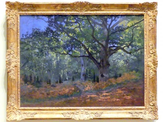 Claude Monet: Die Bodmer Eiche, Wald von Fontainebleau, 1865