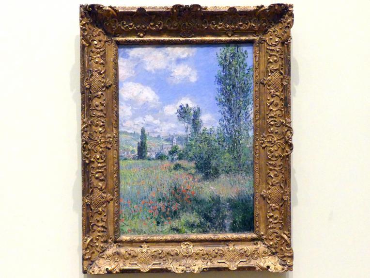 Claude Monet: Ansicht von Vétheuil, 1880