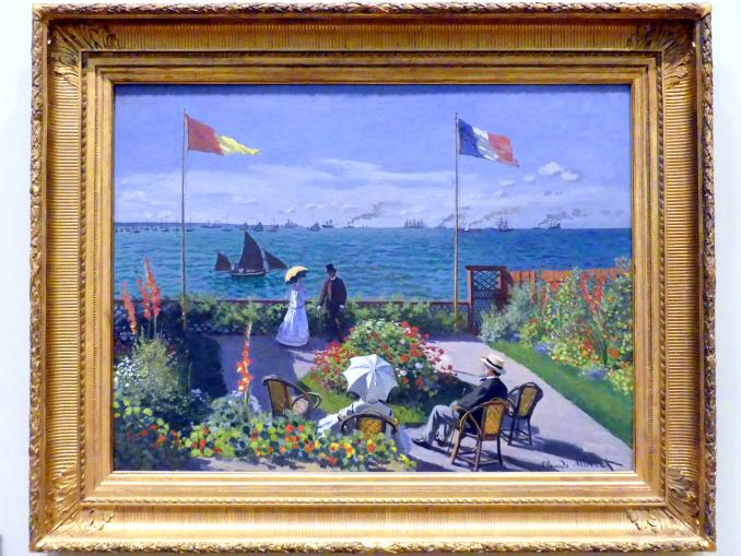 Claude Monet: Garten bei Sainte-Adresse, 1867