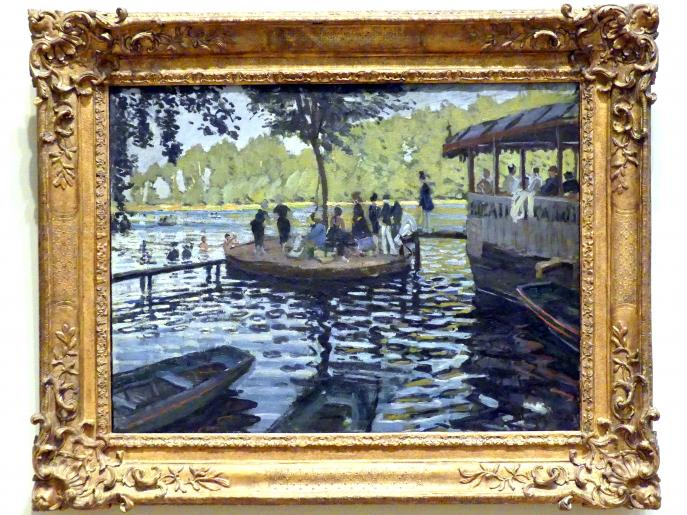 Claude Monet: La Grenouillère, 1869