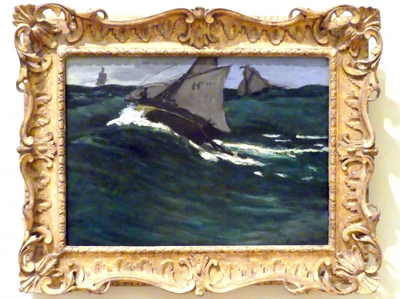 Claude Monet: Die Grüne Welle, um 1866 - 1867