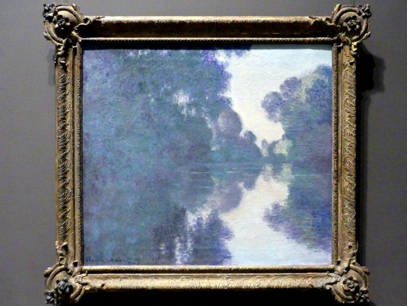Claude Monet: Morgen an der Seine bei Giverny, 1897
