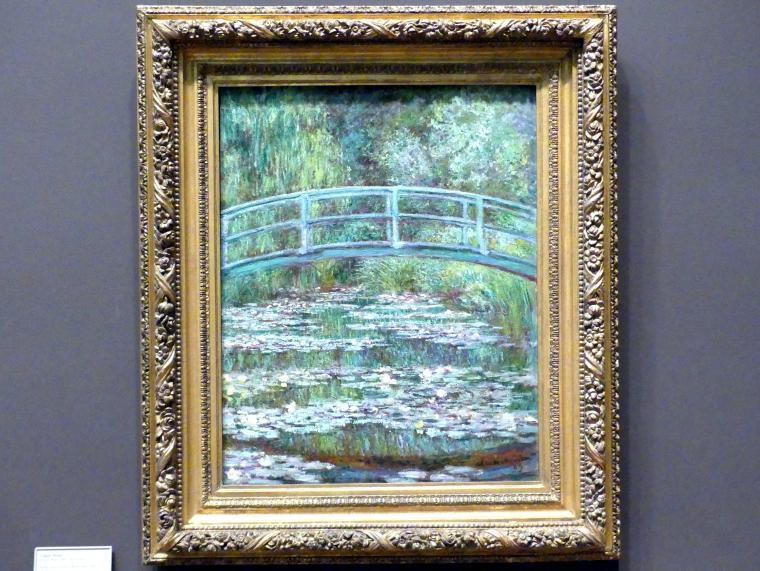 Claude Monet: Die japanische Brücke (The Water Lily Pond), 1899