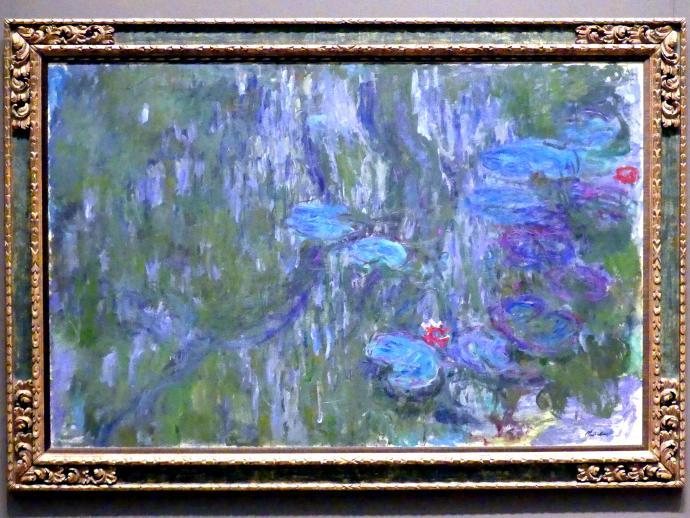 Claude Monet: Seerosen, Reflexionen von Trauerweiden, um 1918