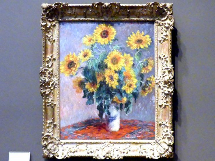 Claude Monet: Sonnenblumenstrauß, 1881