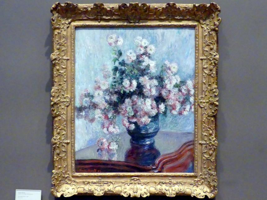 Claude Monet: Chrysanthemen, 1882