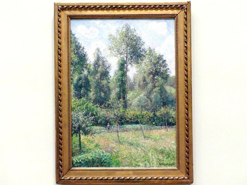 Camille Pissarro: Pappeln, Éragny, 1895