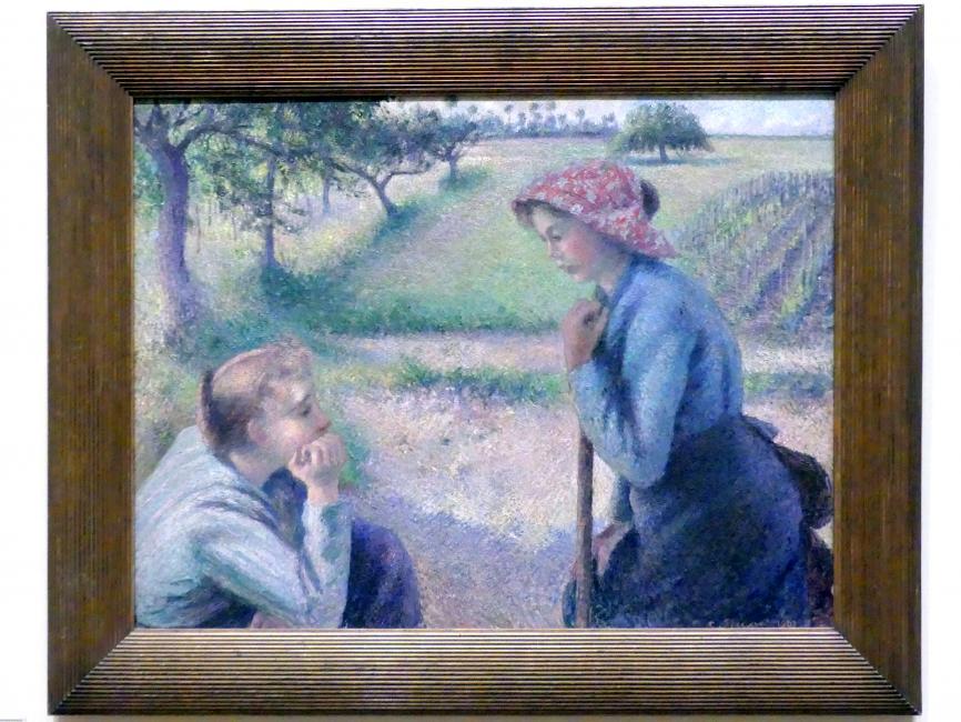 Camille Pissarro: Zwei junge Bäuerinnen, 1891 - 1892