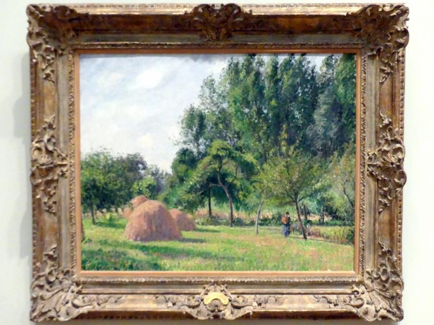 Camille Pissarro: Heuhaufen, Morgen, Éragny, 1899