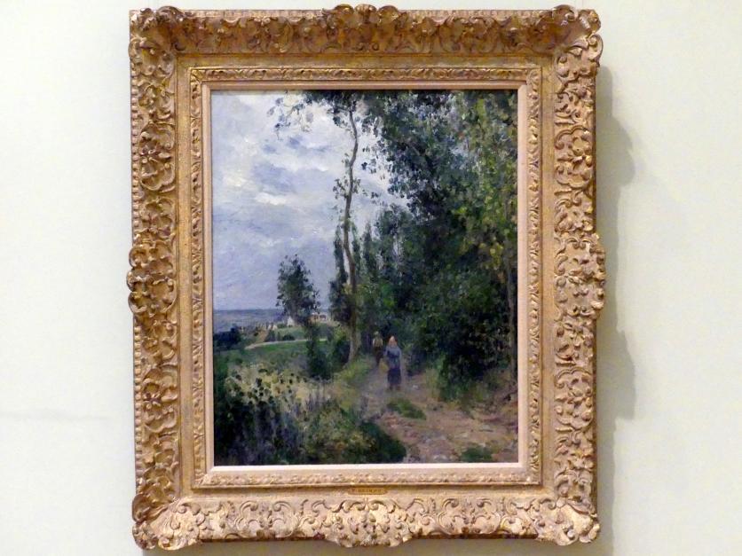Camille Pissarro: Côte des Grouettes, in der Nähe von Pontoise, 1878
