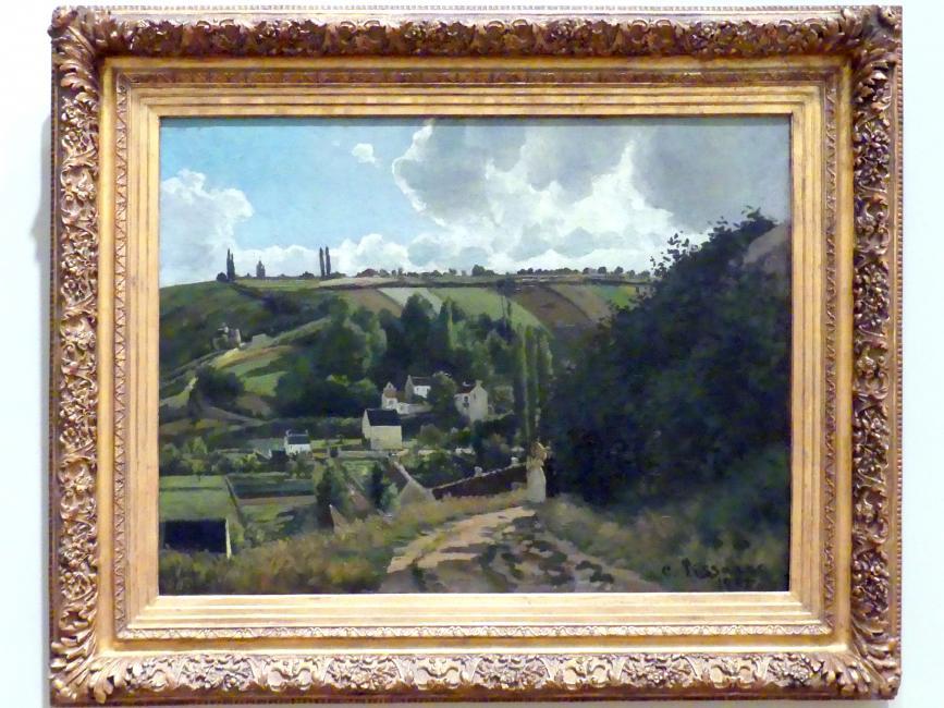 Camille Pissarro: Jalais Hill, Pontoise, 1867