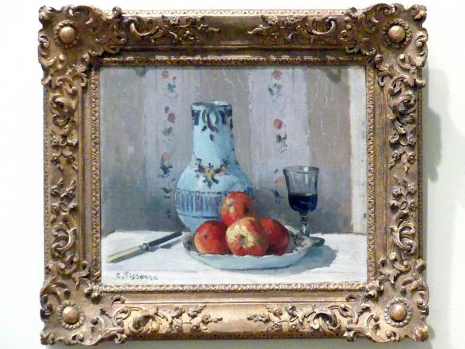 Camille Pissarro: Stillleben mit Äpfeln und Krug, 1872