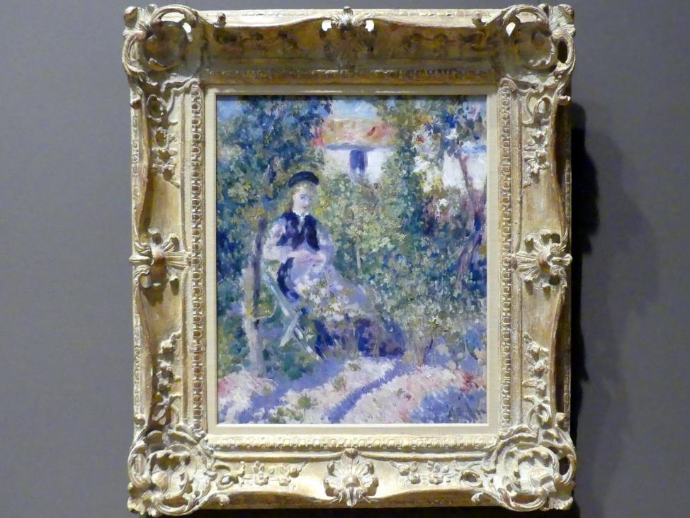 Auguste Renoir (Pierre-Auguste Renoir): Nini im Garten (Nini Lopez), 1876