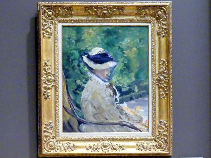 Édouard Manet: Madame Manet (Suzanne Leenhoff, 1830-1906) in Bellevue, 1880