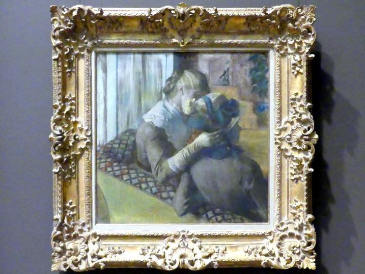 Edgar Degas: Beim Hutmacher, 1881