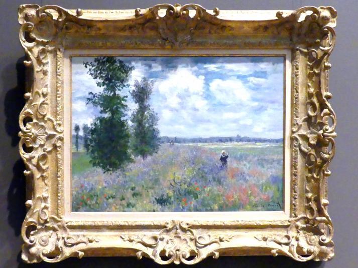 Claude Monet: Mohnblumen bei Argenteuil, 1875