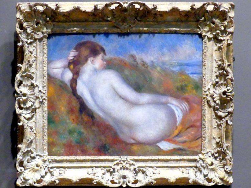 Auguste Renoir (Pierre-Auguste Renoir): Liegender Akt, 1883