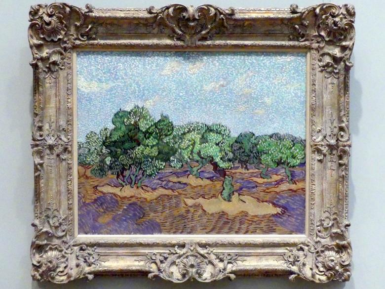 Vincent van Gogh: Olivenbäume, 1889