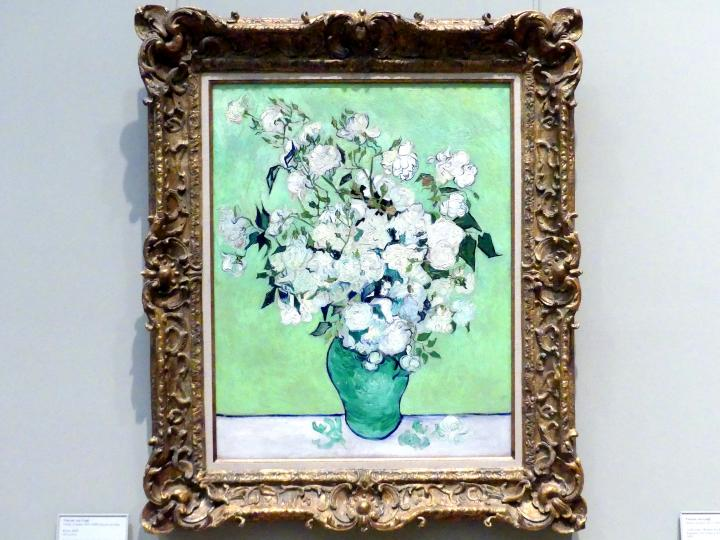 Vincent van Gogh: Rosen, 1890, Bild 1/2