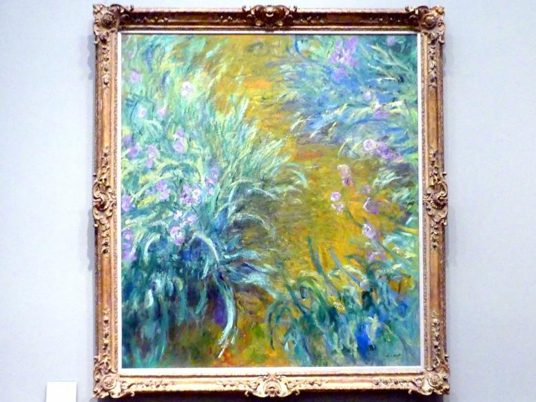 Claude Monet: Der Weg durch die Iris, 1914 - 1917