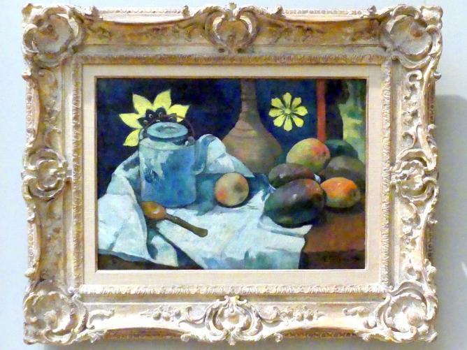 Paul Gauguin: Stillleben mit Teekanne und Obst, 1896