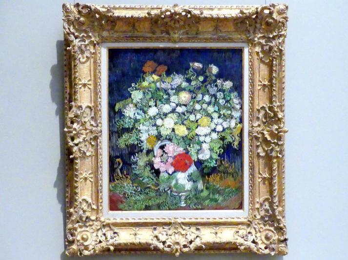 Vincent van Gogh: Blumenstrauß in einer Vase, 1890