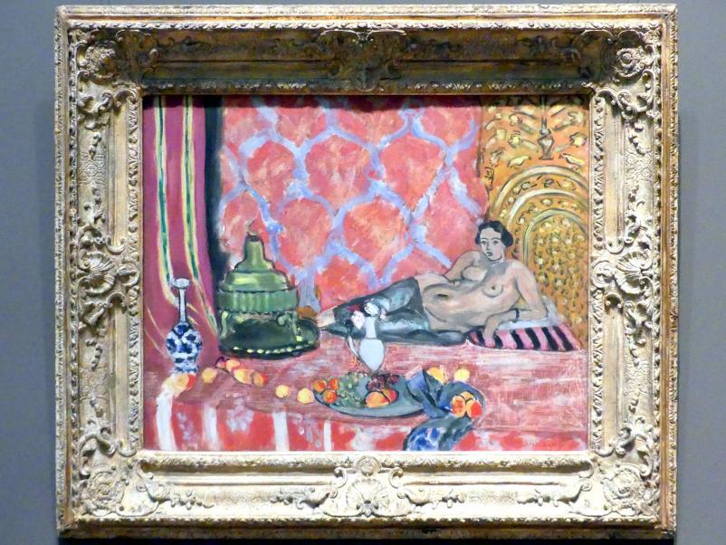 Henri Matisse: Odaliske mit grauer Hose, 1927