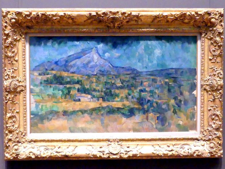 Paul Cézanne: Mont Sainte-Victoire, um 1902 - 1906