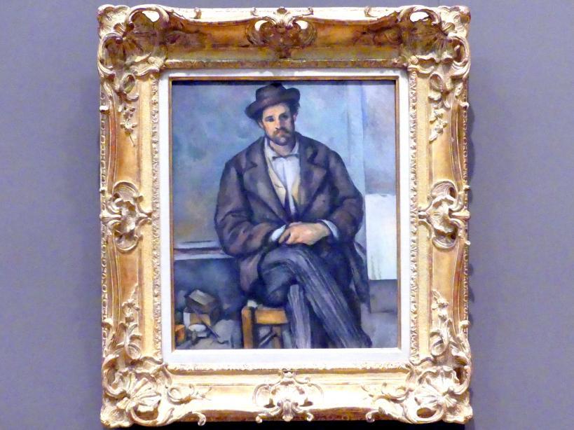 Paul Cézanne: Sitzender Bauer, um 1892 - 1896