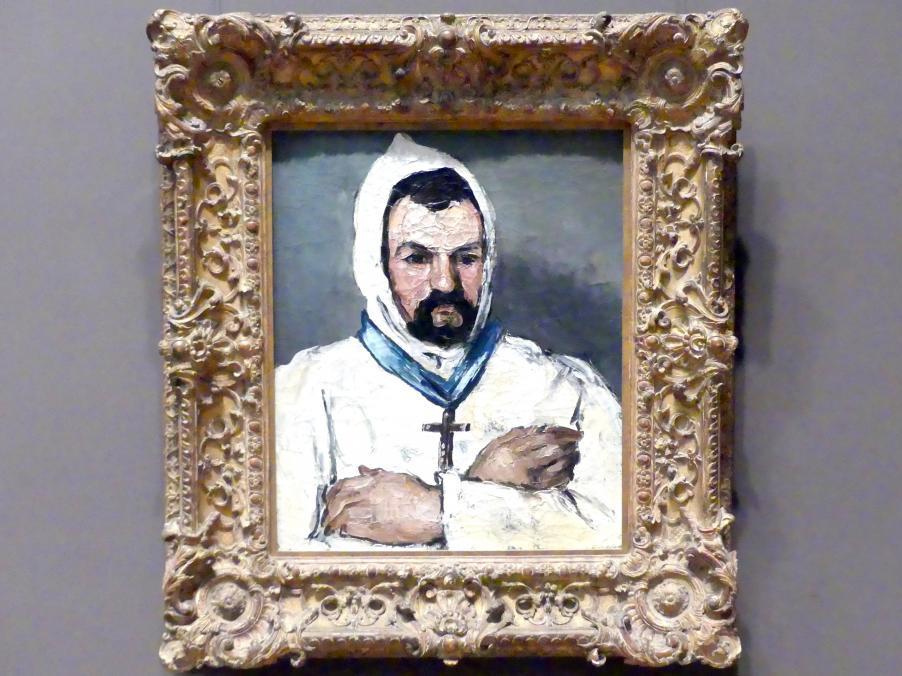 Paul Cézanne: Antoine Dominique Sauveur Aubert (geb. 1817), der Onkel des Künstlers, als Mönch, 1866