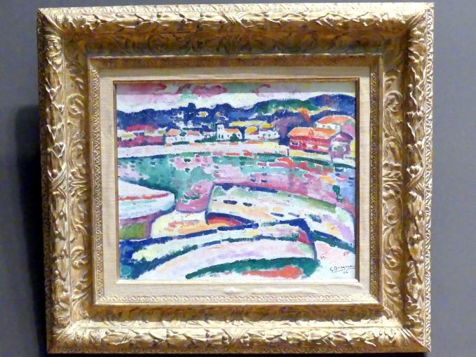 Georges Braque: Boote am Strand von L'Estaque, 1906