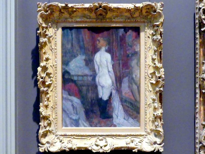 Henri de Toulouse-Lautrec: Frau vor einem Spiegel, 1897