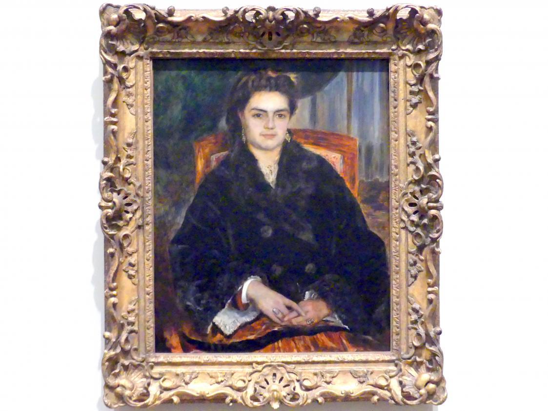 Auguste Renoir (Pierre-Auguste Renoir): Madame Édouard Bernier (Marie-Octavie-Stéphanie Laurens, 1838-1920), 1871