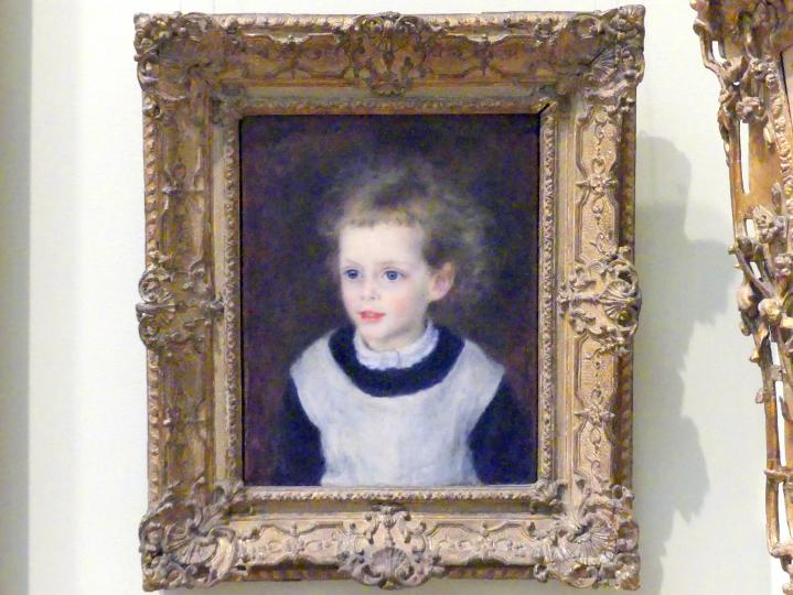 Auguste Renoir (Pierre-Auguste Renoir): Marguerite-Thérèse (Margot) Berard (1874-1956), 1879