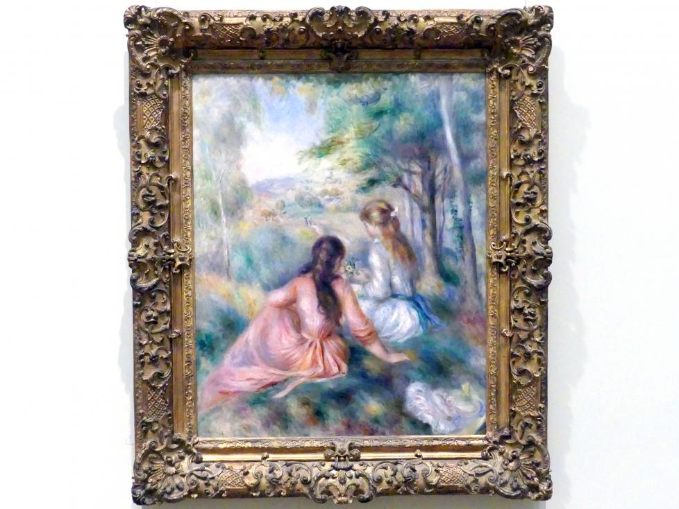 Auguste Renoir (Pierre-Auguste Renoir): Auf der Wiese, 1888 - 1892
