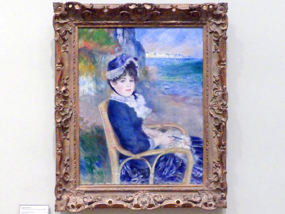 Auguste Renoir (Pierre-Auguste Renoir): An der Meeresküste, 1883
