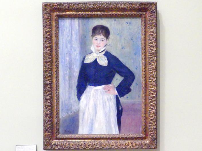 Auguste Renoir (Pierre-Auguste Renoir): Eine Kellnerin in Duvals Restaurant, um 1875