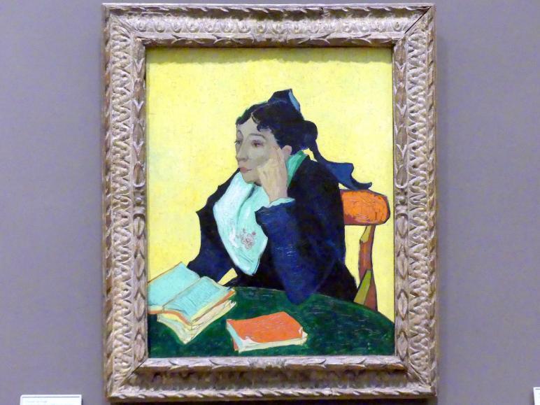 Vincent van Gogh: L'Arlésienne: Madame Joseph-Michel Ginoux (Marie Julien, 1848-1911), 1888 - 1889