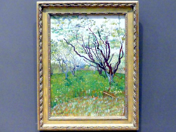 Vincent van Gogh: Blühender Obstgarten, 1888