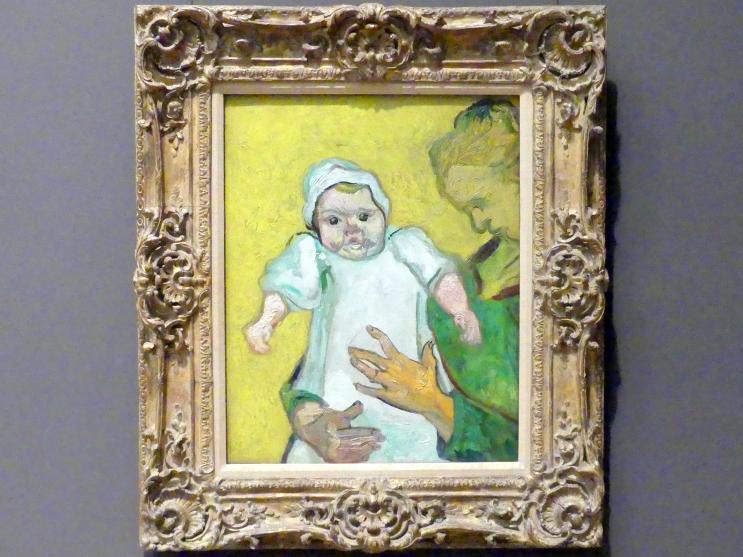 Vincent van Gogh: Madame Roulin und ihr Baby, 1888