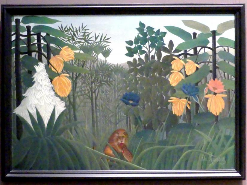 Henri Rousseau (Le Douanier): Das Mahl des Löwen, um 1907