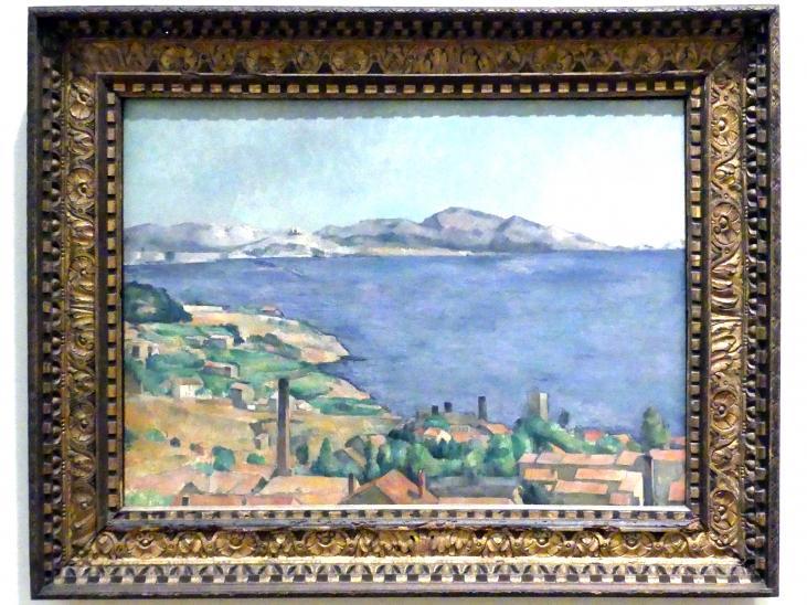 Paul Cézanne: Der Golf von Marseille von L'Estaque aus gesehen, um 1885