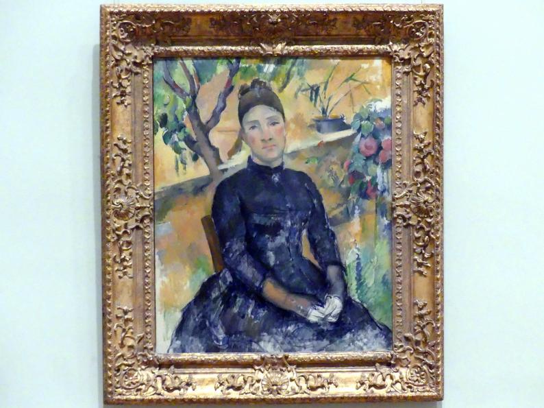 Paul Cézanne: Madame Cézanne (Hortense Fiquet, 1850-1922) im Konservatorium, 1891