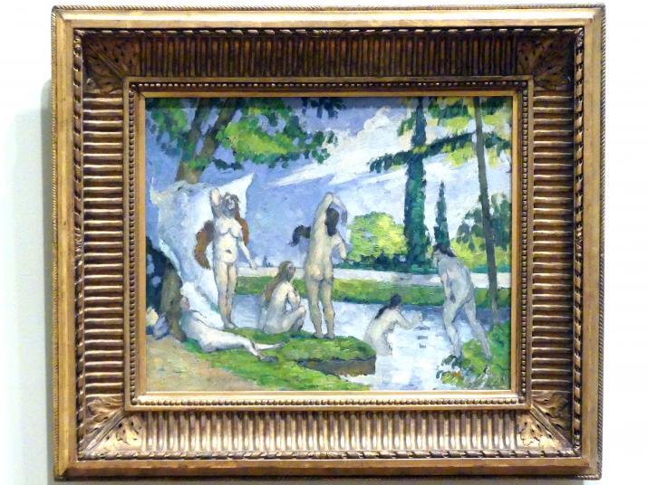 Paul Cézanne: Badende, 1874 - 1875
